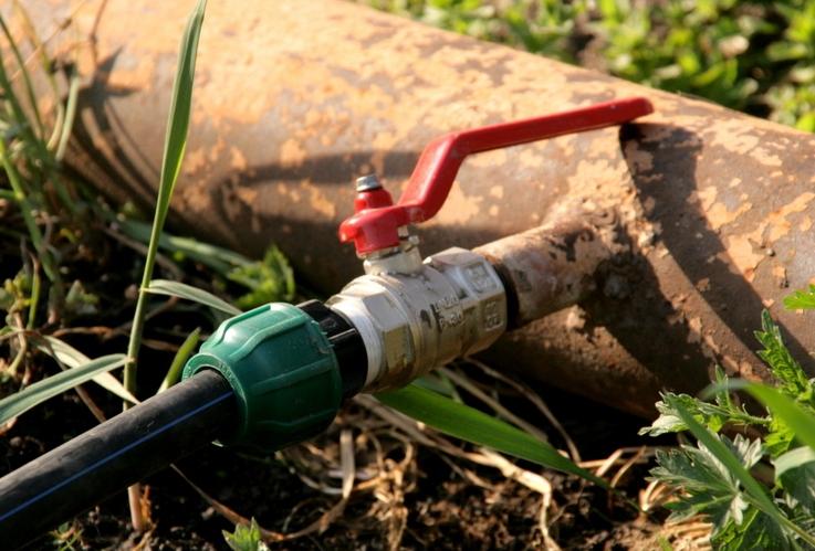 Садовый водопровод из полиэтиленовых труб своими руками